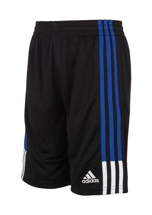 adidas Boys 4-7 3 Stripe Shorts