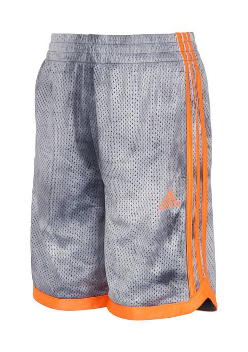 adidas Boys 8-20 Tie Dye Mesh Shorts