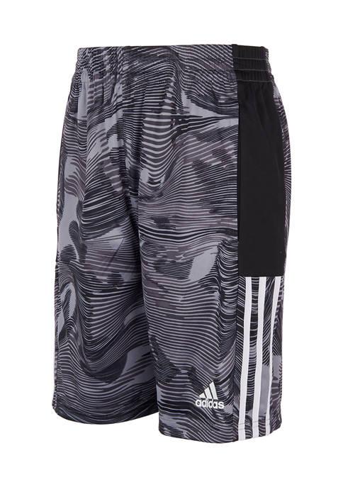 adidas Boys 8-20 Camo Shorts