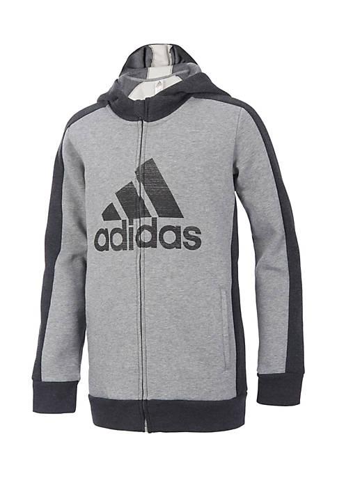 adidas Athletics Pullover Hoodie Boys 8 20