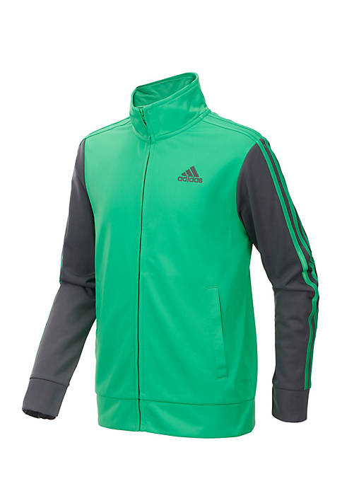 adidas Boys 8-20 Colorblock Tricot Jacket