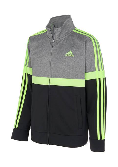 adidas Boys 8-20 Split Tricot Jacket