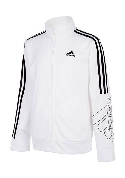 adidas Boys 8-20 Tricot Jacket