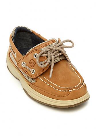 Boy/'s Shoes Infant//Toddler-Navy//Size 5 Baby Deer Deck Shoe