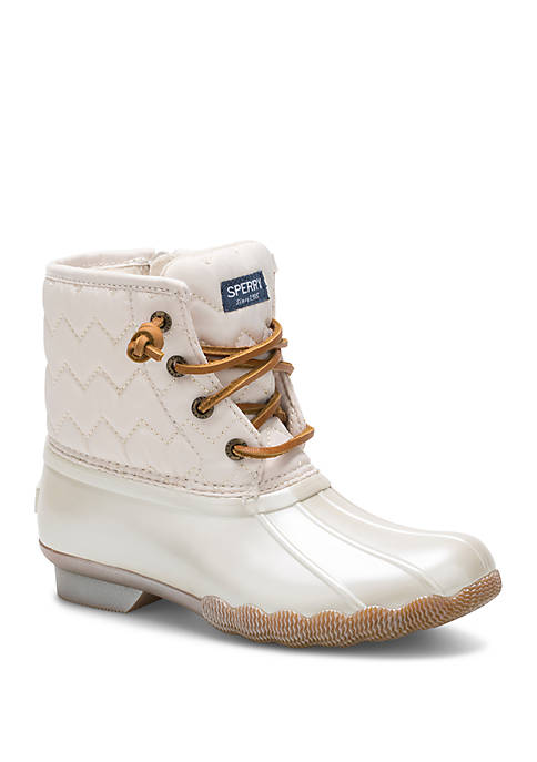 Sperry® Youth Girls Saltwater Duck Boots