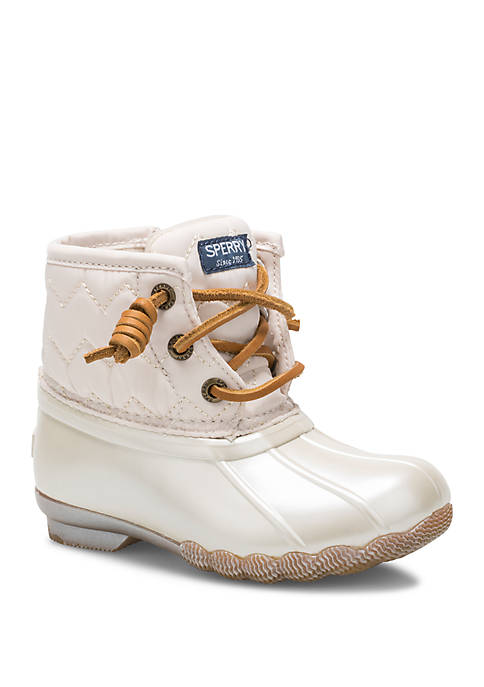Sperry® Toddler Girls Saltwater Duck Boot