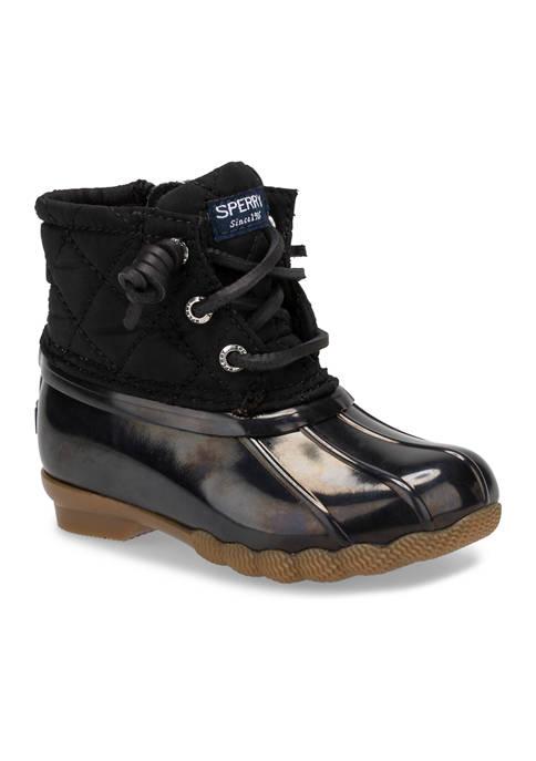 Sperry® Toddler Girls Saltwater Boots