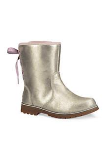 Girl's Corene Metallic Boot- Toddler