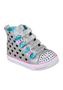 Toddler Girls High Top Shuffle Lite Sneaker
