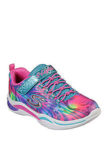 Skechers Toddler/Youth Girls Power Petals Flower Spark Sneakers