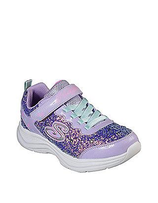ToddlerYouth Girls Glimmer Kicks Glitter 'n Glow Sneakers