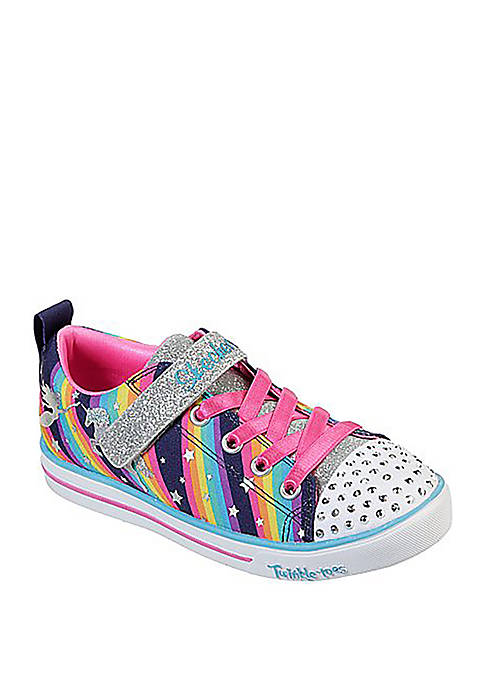 Toddler/Youth Girl Sparkle Lite Magical Rainbow Sneakers