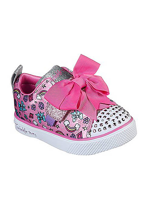 Skechers Infant/Toddler Girls Twinkle Breeze 2.0 Charming Bow