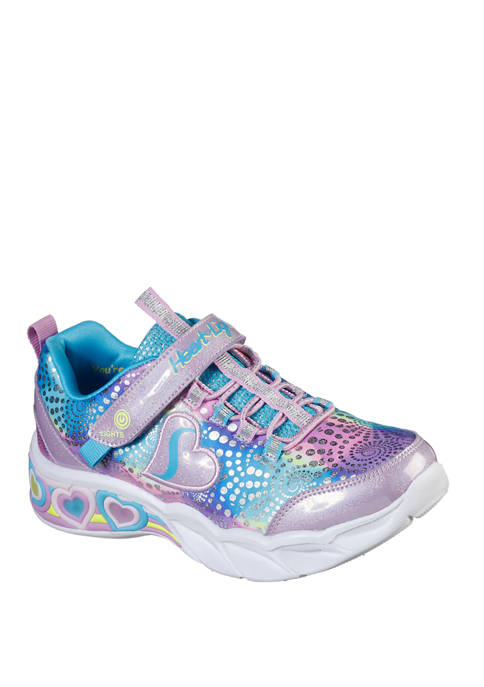 Youth Girls Sweetheart Lights Sneakers