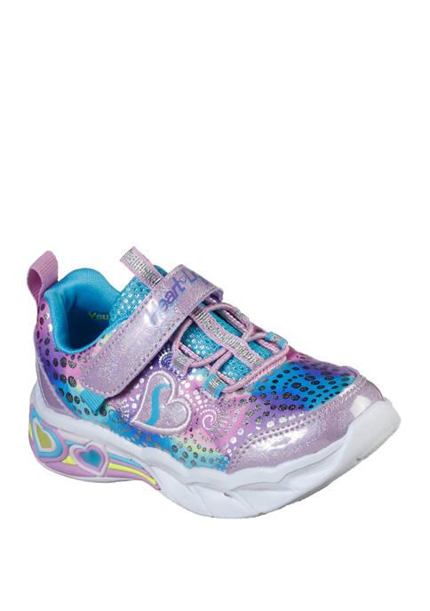 Toddler Girls Sweetheart Lights Sneakers