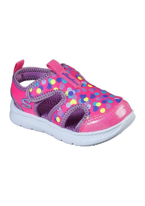 Skechers Toddler Girls Darling Dots Flex Sandals