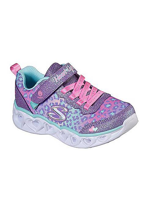Skechers Toddler Girls Heart Lights Love Sneakers