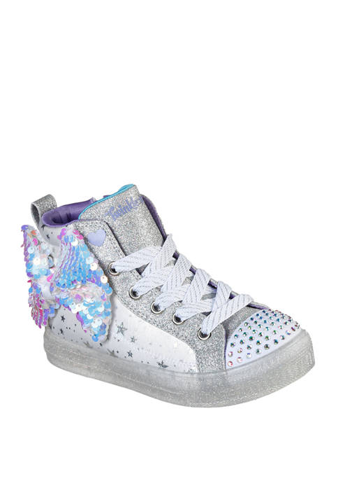 Youth Girls Shuffle Brightes 2.0 Twinkle Bow Sneakers