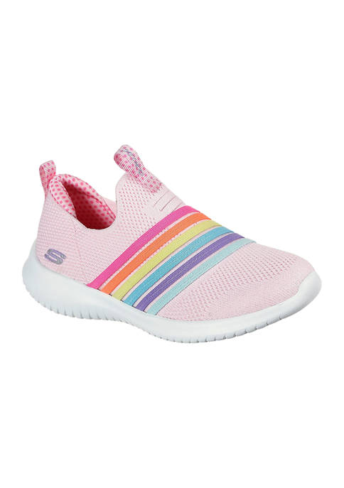 Skechers Toddler Girls Ultra Flex Brightful Day Sneakers