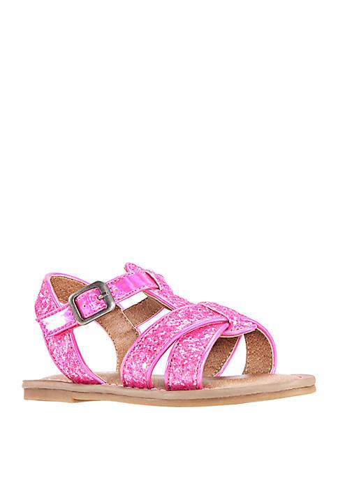 Nina Toddler Girls Bernice Glitter T-Strap Sandals