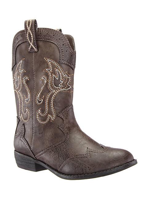 Girls Beti Fashion Western Boot - Youth