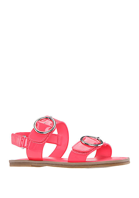 Nina Toddler/Youth Girls Brunny Double Buckle Sandals