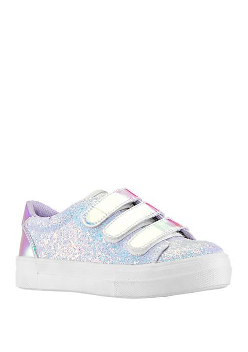 Youth Girls Gizella Glitter Sneakers