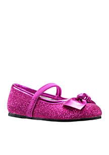 Larabeth Glitter Ballet Flat - Toddler/Youth Girls