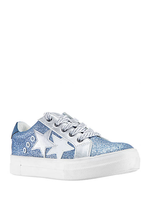 Nina Toddler/Youth Girls Lizzie Glitter Star Sneakers