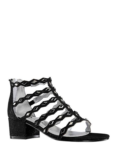 Nina Youth Girls Mantina Dress Heel Sandals