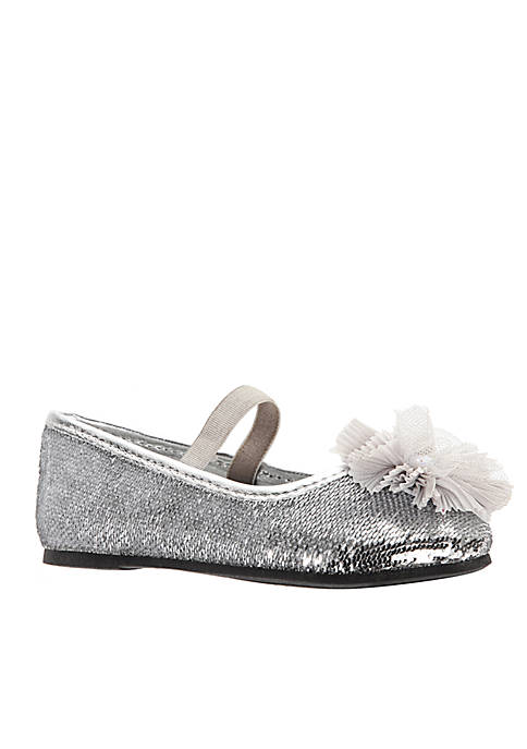 Nina Girls Star Sequin Ballet Flats