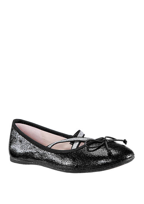 Nina Toddler/Youth Girls Zavana Ballet Flats