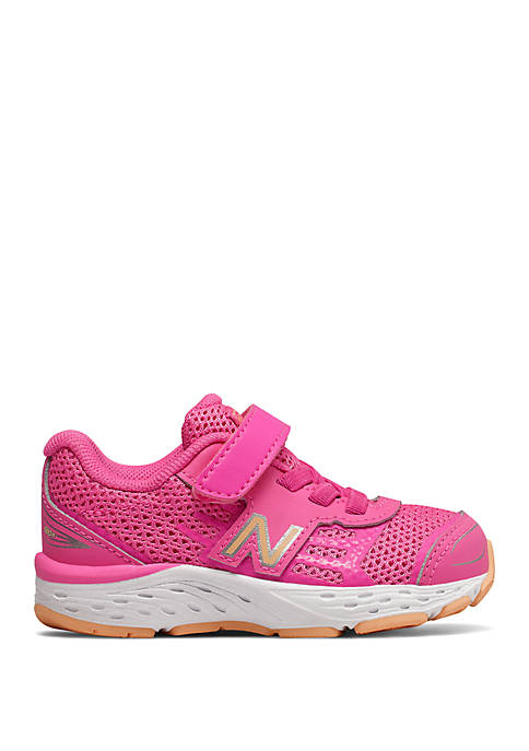 New Balance Baby/Toddler Girls Hook and Loop 680v5