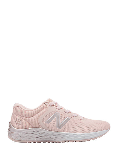 New Balance Youth Girls Pink Athletic Sneakers