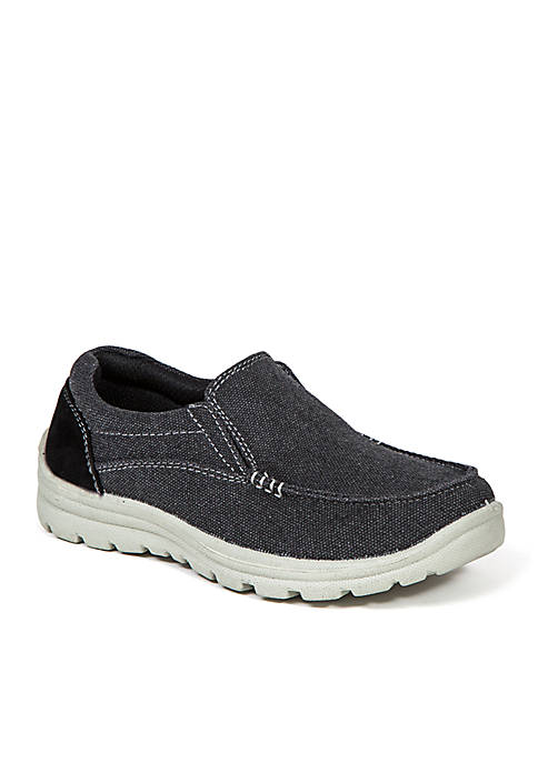Alvin Boys Twin Gore Slip-On Shoe