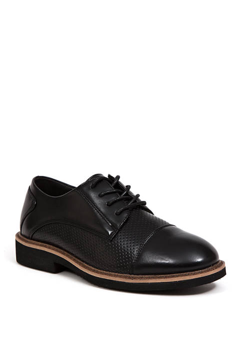 Deer Stags Youth Boys Devers Cap Toe Oxfords