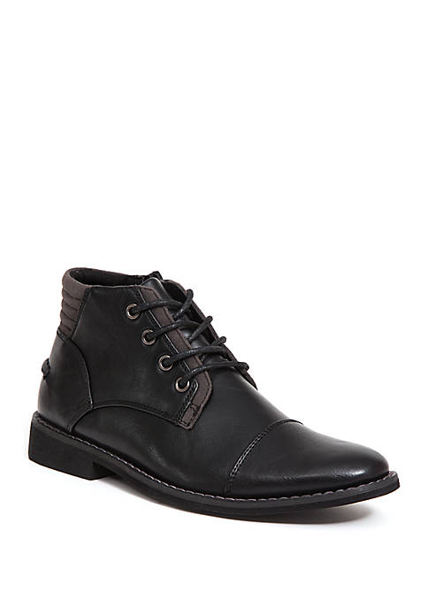 Youth Boys Hamlin Cap Toe Boots
