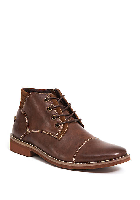 Deer Stags Youth Boys Hamlin Cap Toe Boots