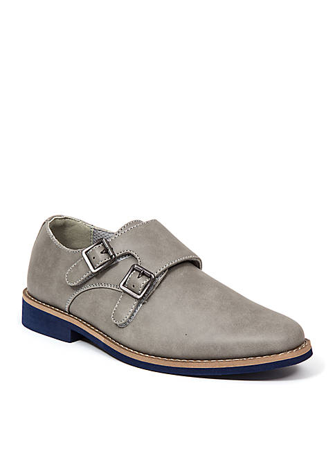 Deer Stags Youth Harry Boys Dress Monk Strap