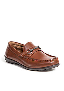 Kid's Latch Driving Moc Style Dress Comfort Loafer
