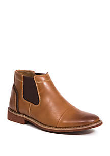 Deer Stags Youth Boys Marcus Cap Toe Chelsea Boots