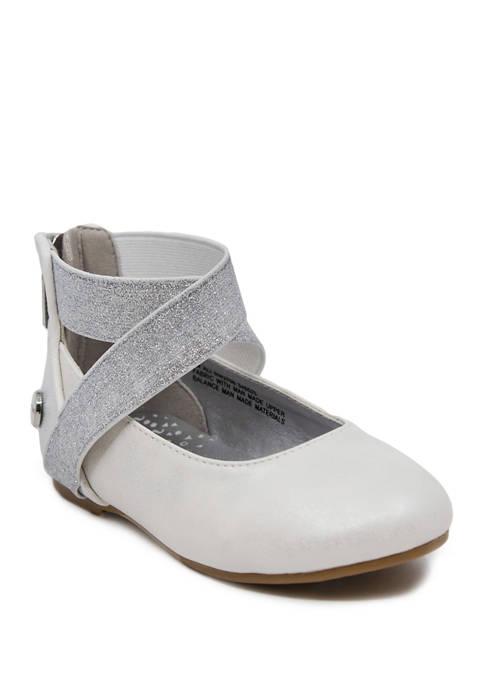 Nine West Toddler Girls Ali Ballet Flat Shoes