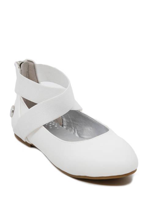 Youth Girls Cara Ballet Flat Shoes