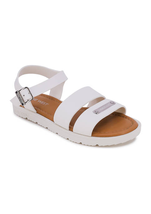Juicy Couture Big Girls Hedy Double Strap Sandals