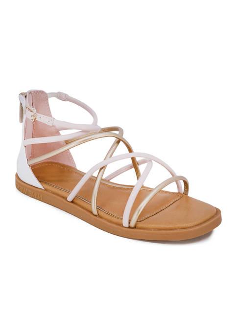Juicy Couture Big Girls Kya Gladiator Sandals