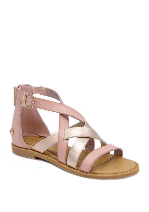 Nine West Youth Girls Ohana Gladiator Sandals