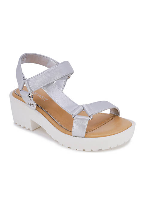 Juicy Couture Big Girls Star Strappy Sandals