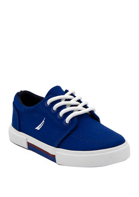Nautica Youth Boys Berrian Canvas Sneakers
