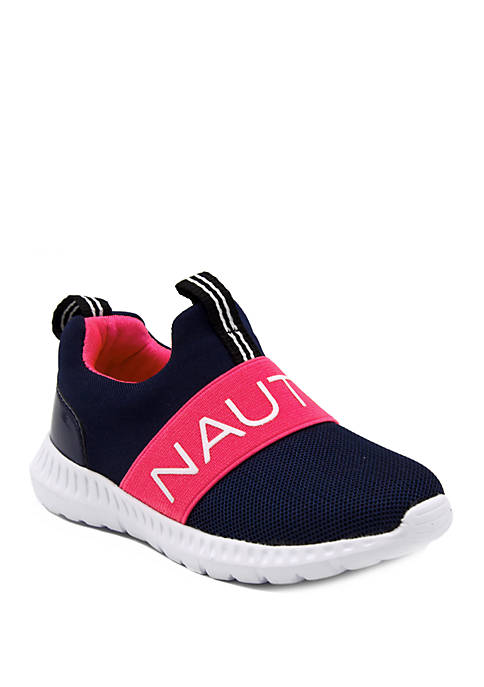Nautica Toddler Girls Canvey Slip On Sneakers