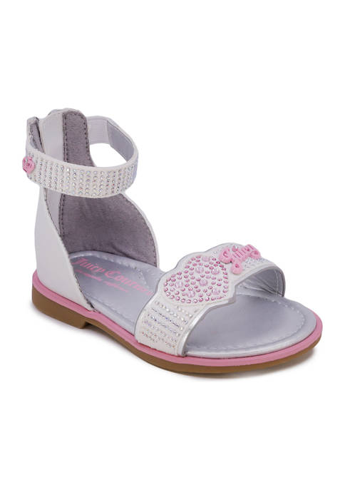 Juicy Couture Toddler Girls Lil Fremont Ankle Strap